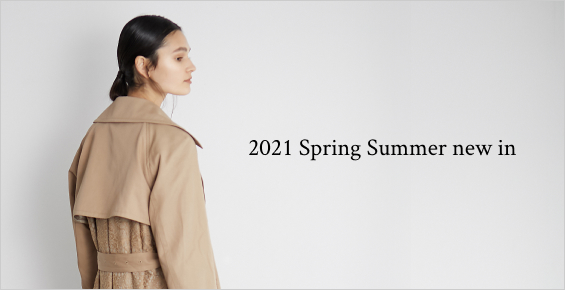 2021 Spring Summer new in